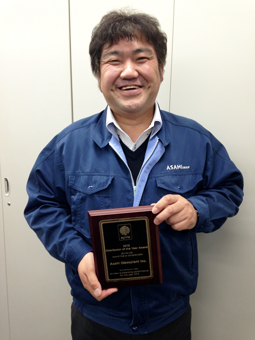 Syrris社【2013 Distributor of the Year】を受賞